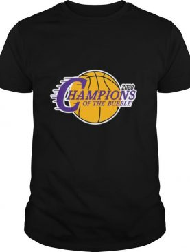 2020 Los Angeles Champions Of The Bubble shirt
