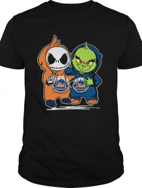 Baby Jack Skellington And Baby Grinch New York Mets