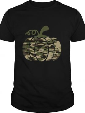 Camo Pumpkin Military Tactical Halloween costume Lazy easy shirt