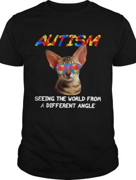 Cat Autism Seeing The World From A Different Angle shirt