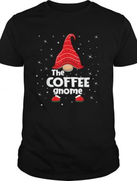 Coffee Gnome Family Matching Christmas Pajama shirt