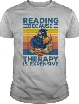 Dragon Reading Books because Therapy is expensive vintage shirt