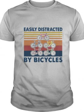 Easily Distracted By Bicycles Vintage shirt