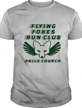 Flying Foxes Run Club Falls Church shirt