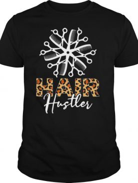 Hair hustler leopard shirt