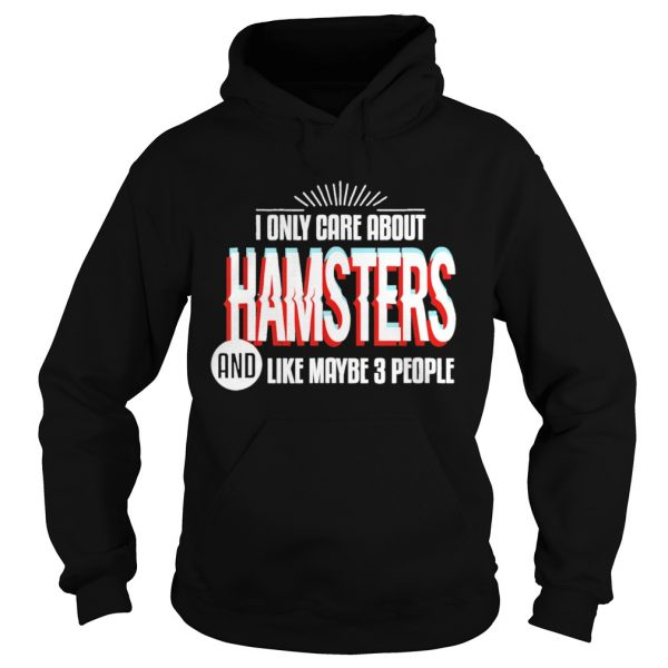 I Only Care And Obsessed About Hamsters Pet Animal  Hoodie