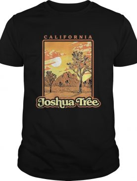 Joshua Tree National Park Vintage WPA Poster Style shirt