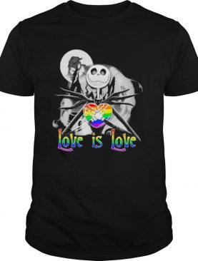LGBT Jack Skellington Love Is Love shirt