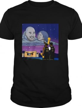 Lebron James And Anthony Davis This One Is For You Kobe Bryant And Gigi shirt