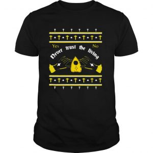 Ouija Never Trust The Living Yes No Christmas shirt