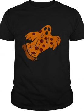Pizza Halloween Ghost Scary Pizza shirt
