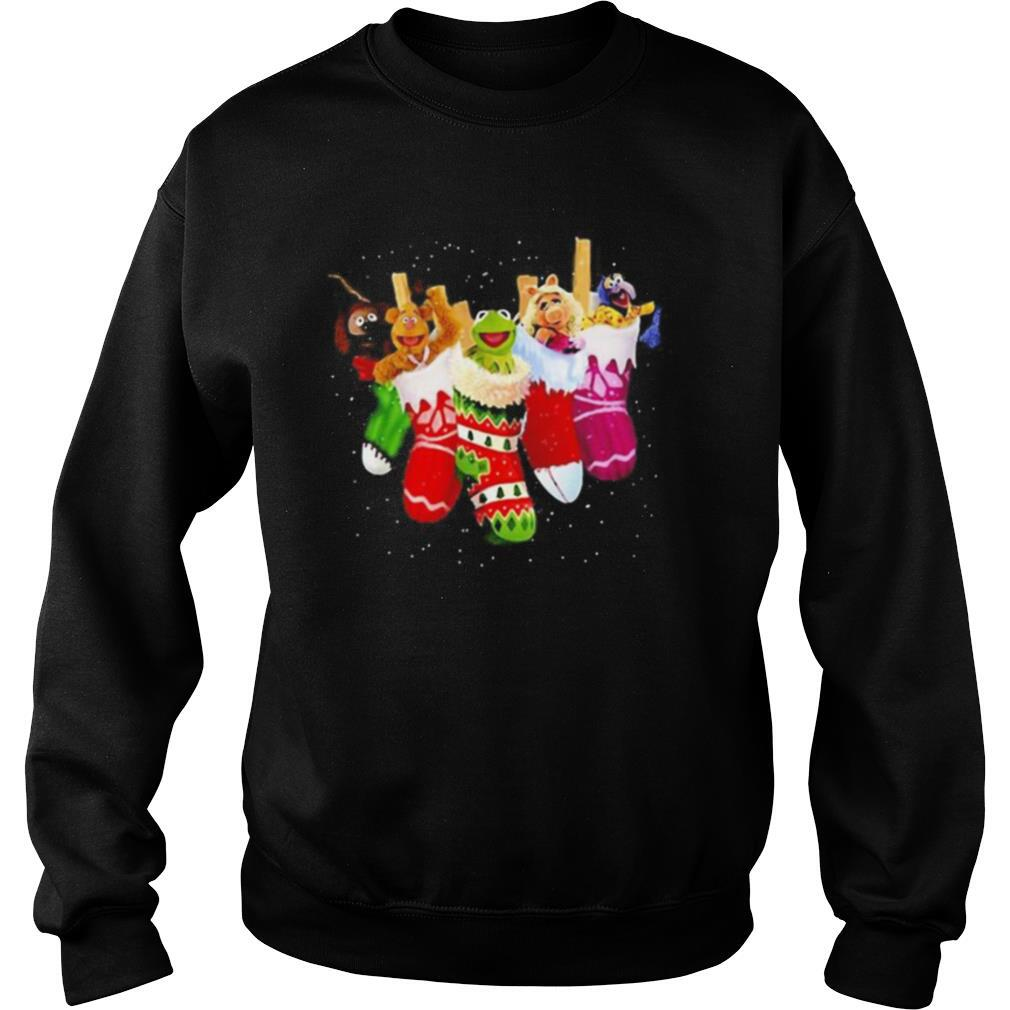 The muppets cartoon merry christmas shirt