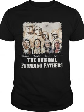 The original founding fathers signatures vintage shirt