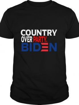 Country Over Party Biden Election shirt