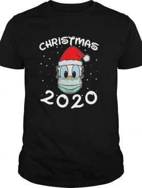 Face Donald Santa Wear Mask Merry Christmas 2020 Christmas shirt