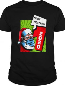 Facemask Santa Claus Quarantine Christmas 2020 shirt
