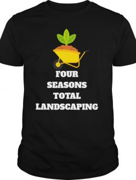 Four Seasons Total Landscaping One Wheel Trolley shirt