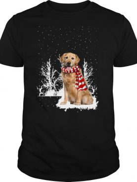 Golden Retriever Merry Christmas shirt