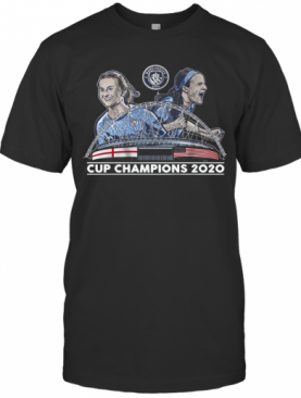 Lavelle Mewis Man City 2020 Cup Champions T-Shirt