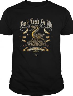 Liberty Or Death Lethal Since 1776 Cobra shirt