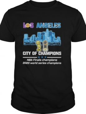 Los Angeles Dodgers city of Champions Nba Finals Champions 2020 world series champions shirt