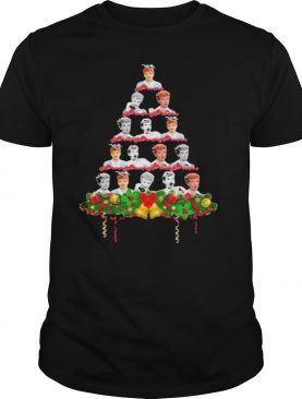 Lucille Ball Christmas Tree shirt