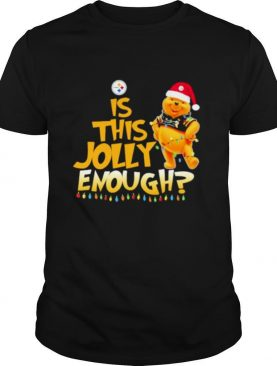 Pooh is this jolly enough pittsburgh steelers shirt