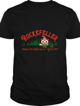 Rockefeller the Owl New York Cutest Owl In The City shirt