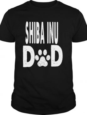 Shiba Inu DAD Dog Owner shirt