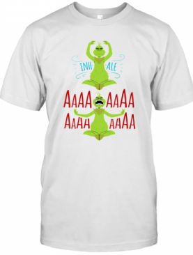 The Grinch Yoga Inhale Aaaaaa T-Shirt