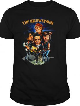 The Highwaymen Country Supergroup Caricatures shirt