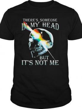There's Someone In My Head But It's Not Me Skull Pink Floyd Lgbt shirt