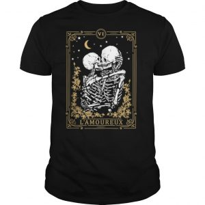 Thes Vintage Tarot Card Magic Occult Lamoureux shirt