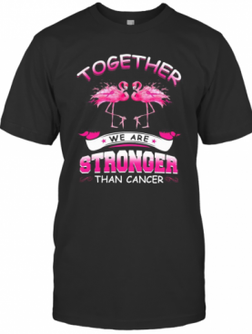 Together We Are Stronger Than Cancer T-Shirt