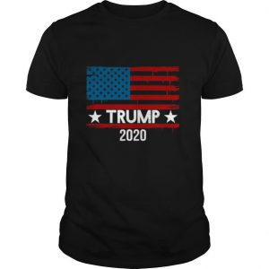 Trump 2020 American Flag Election shirt