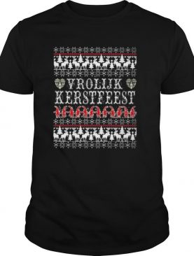 Vrolijk Kerstfeest Ugly Christmas shirt