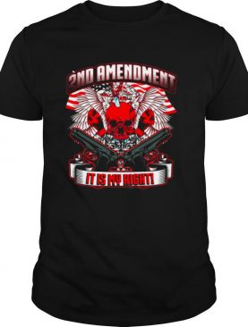 2nd Amendment It's My Right shirt