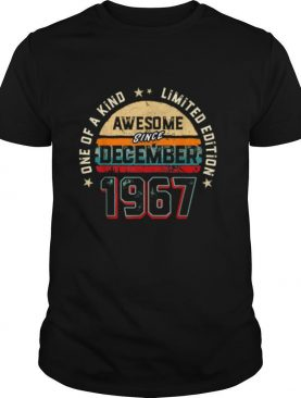 53 Years Old Awesome Since 1967 shirt