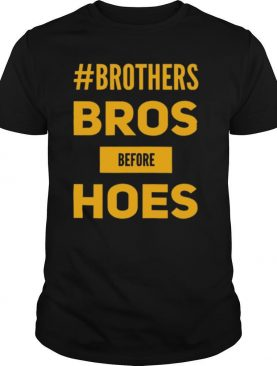 Bros Before Hoes Funny Gamer Brotherhood shirt