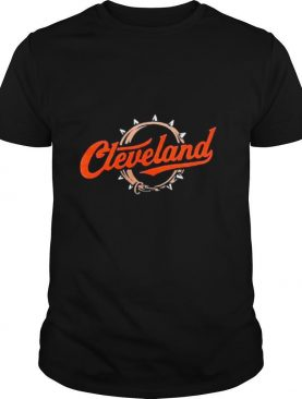 Cleveland Football Script Collar shirt