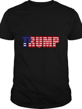 Donald Trump 2020 American Flag shirt