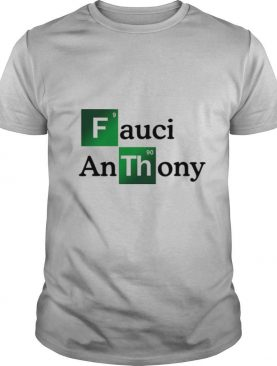 Fauci Anthony We Trust In Science Chemistry Wear A Mask Not Morons shirt