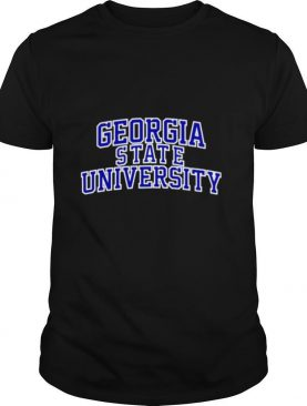 Georgia State University blue shirt