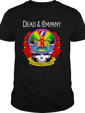 Grateful Dead And Company Dancing Bear Roses Summer 2019 shirt