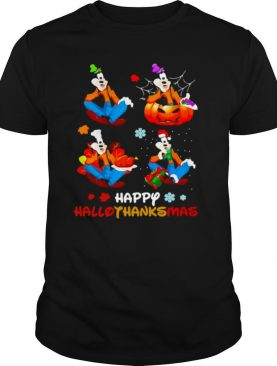 Great Goofy Happy Hallothanksmas shirt