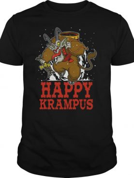 Happy Krampus Merry Christmas shirt