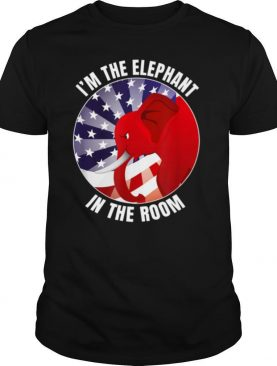 I'm The Elephant In The Room Republican Conservative shirt