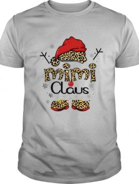 Leopard Mimi Claus Ugly Christmas shirt