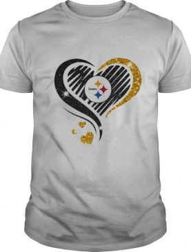 Logo Steelers Hearts shirt