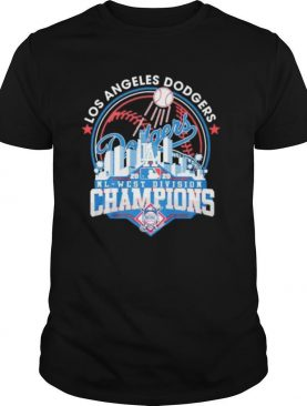 Los Angeles Dodgers Dodgers National League Champions shirt